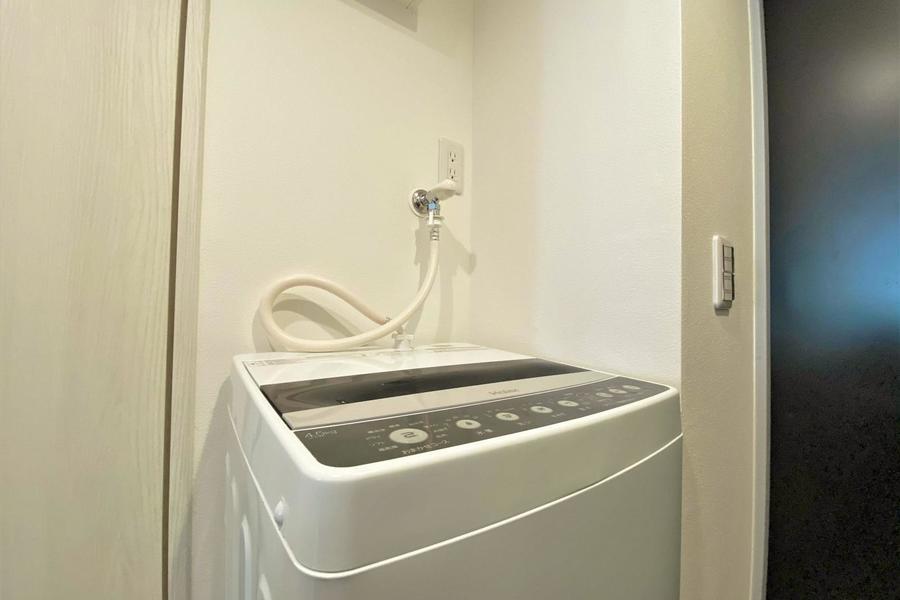 洗濯機もございます!