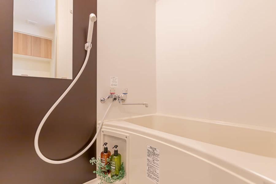 【Cタイプ】日頃の疲れを癒せるシンプル浴室◎