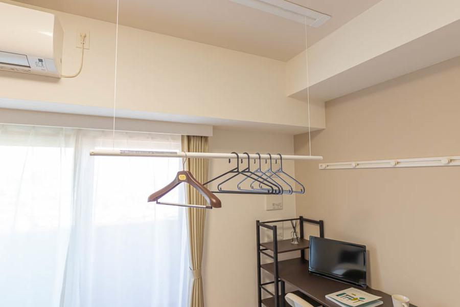 【Cタイプ】部屋に洗濯物を干せます◎