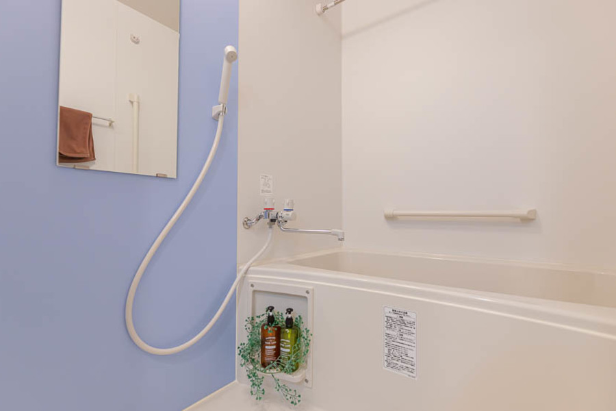 【Aタイプ】素敵なブルーな浴室