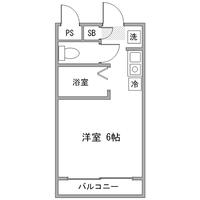 【スペシャルSALE】アットイン四ツ谷1-2間取図