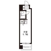 【スペシャルSALE】アットイン三鷹1間取図