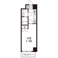 【ロング割】アットイン船橋1間取図