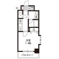【マッチング・スポットセール】アットイン西葛西2-2間取図