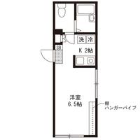 【ミドル割】アットイン千歳船橋2-1間取図