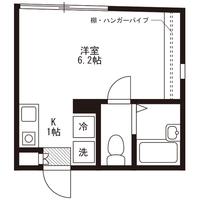 【ミドル割】アットイン千歳船橋2-2間取図