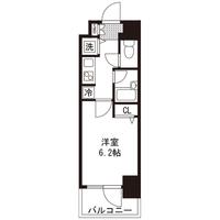 【ロング割】アットイン蒲田6間取図