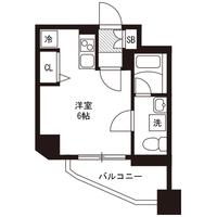 【マッチング・スポットセール】アットイン松戸1間取図