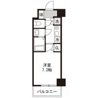 【ロング割】アットイン赤坂2間取図