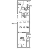【ロング割】アットイン東向島1-4間取図