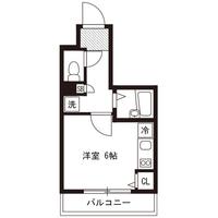 【ロング割】アットイン横浜21-2間取図