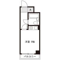 【ロング割】アットイン横須賀2間取図