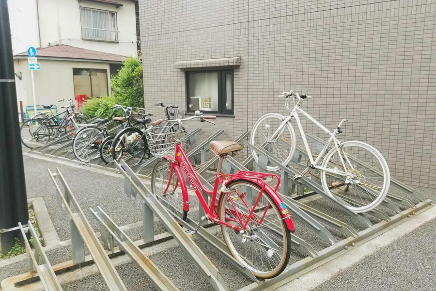自転車置き場あり(ご希望の場合はお問い合わせください)