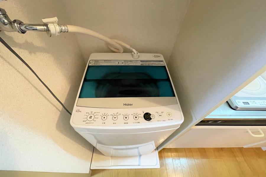室内洗濯機置き場もあります