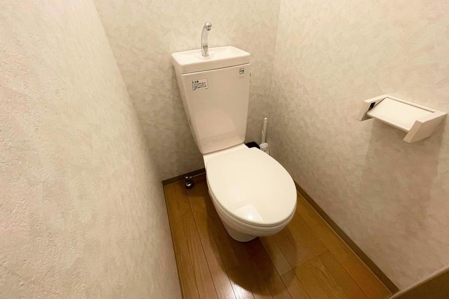 セパレートタイプのトイレです