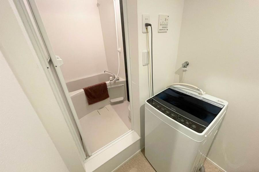 室内洗濯き置き場もあります