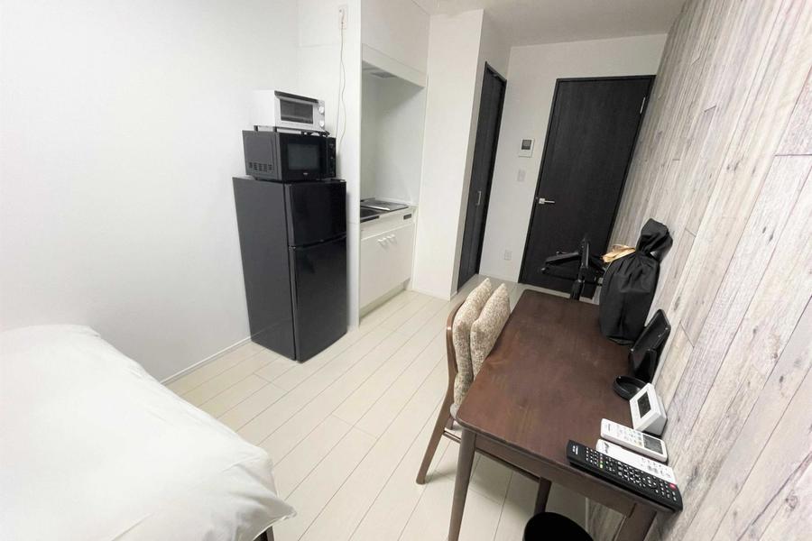 デスクチェアもあり過ごしやすいお部屋