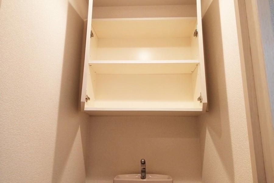 トイレ上収納もあり