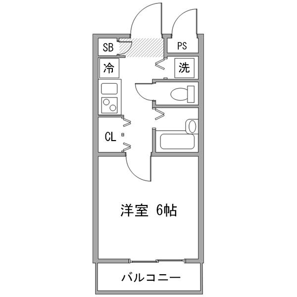 ◇アットイン新宿10の間取り