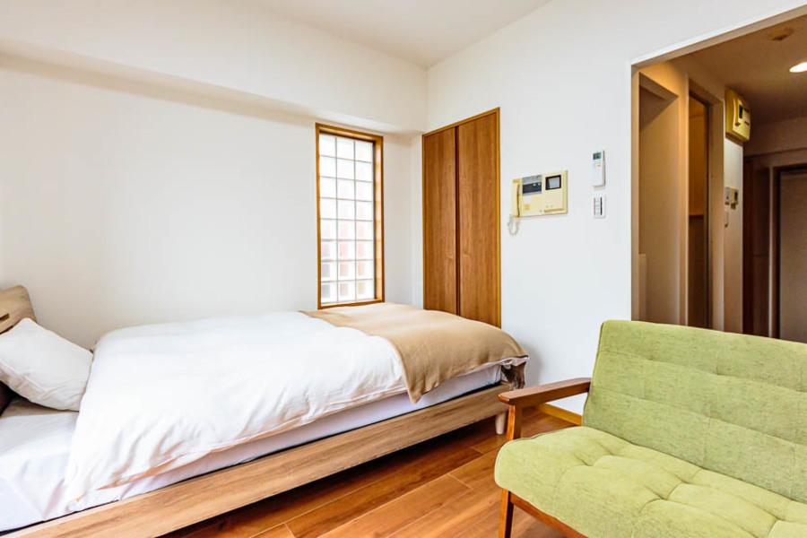 ナチュラルな木材がコンセプトのお部屋です!