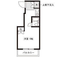 【マッチング・スポットセール】アットイン原宿1-1間取図