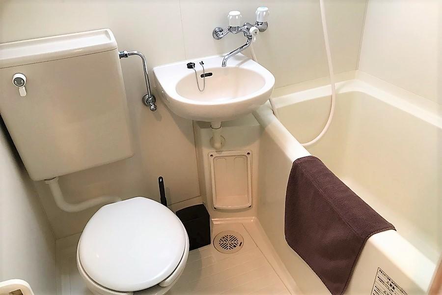 お風呂など水回りは使いやすく一箇所に集約