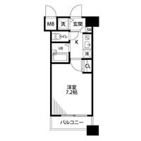 【冬先取りキャンペーン】アットイン木場1間取図