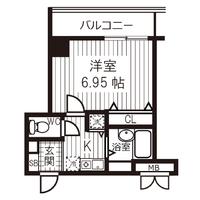 アットイン日本橋6-1間取図