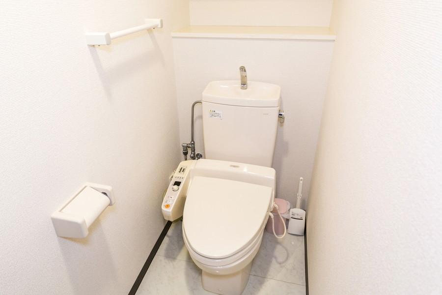 清潔感のあるトイレは人気のセパレートタイプ