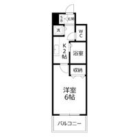 【Happy割】アットイン新宿5-1間取図