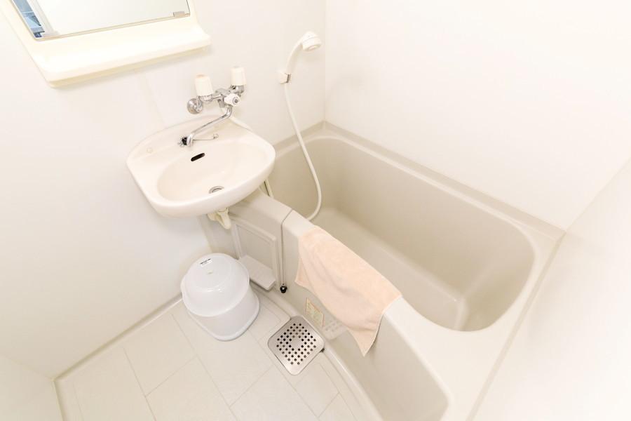 バスルームではくつろぎの一時をお過ごしいただけます