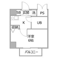 アットイン川崎8間取図