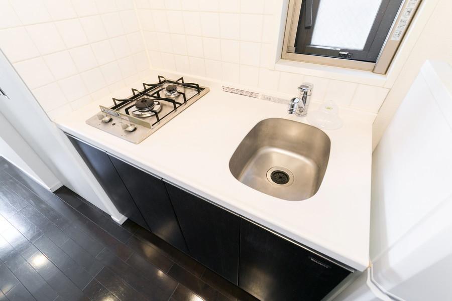 作業スペースが設けられた使い勝手のよいキッチンです