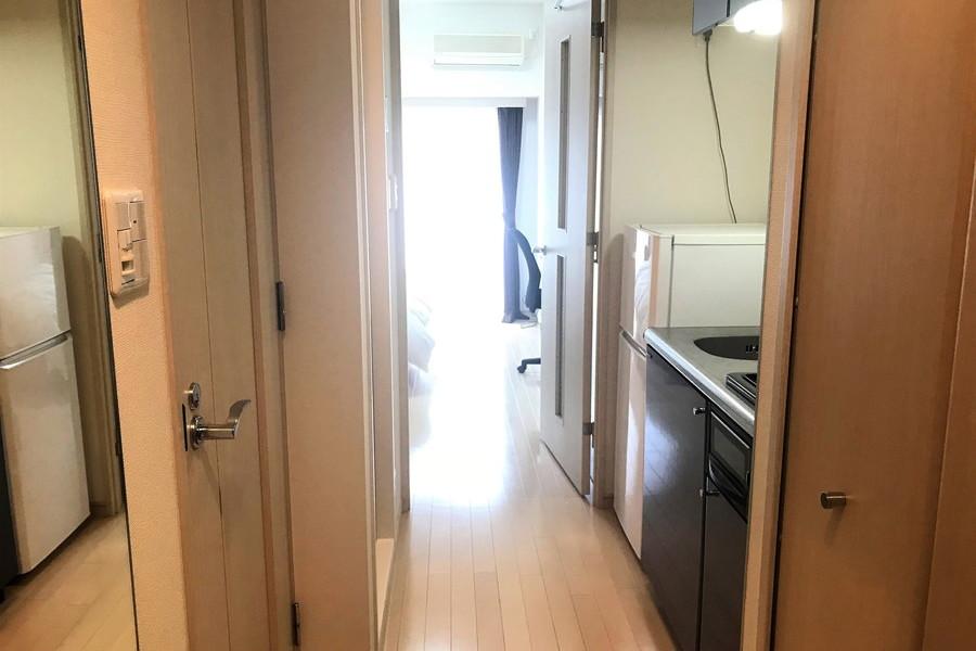 仕切り扉は来客時のプライバシー確保に役立ちます