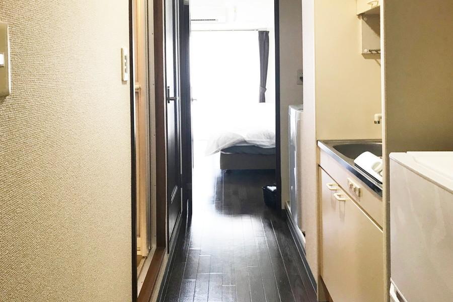 廊下とお部屋の間には段差がなくつまづく心配はありません