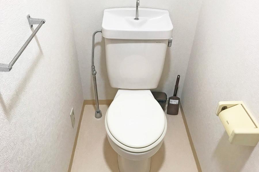 清潔感あるトイレはセパレートタイプ