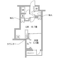 【夏割】アットイン東向島1-2間取図