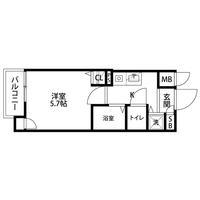 【冬先取りキャンペーン】アットイン日本橋4-2間取図