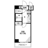 【秋割】アットイン渋谷1間取図