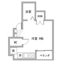 【秋割】アットイン両国1-1間取図