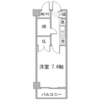 アットイン川崎12間取図