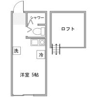 アットイン川崎11-1間取図