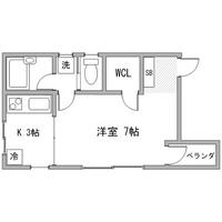 アットイン横浜3間取図