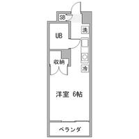 アットイン横浜2間取図