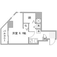 【Happy割】アットイン銀座3間取図