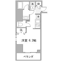 【冬割】アットイン五反田1間取図