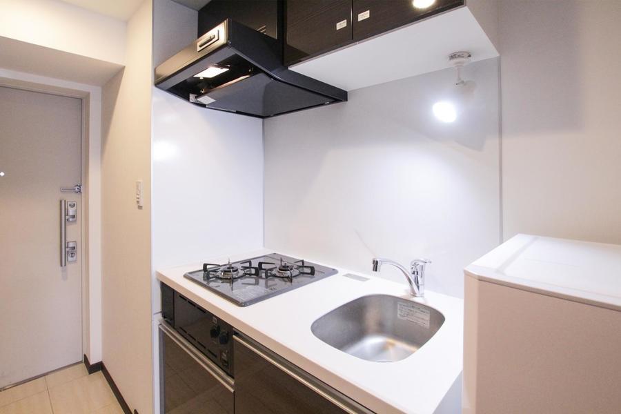 ガスオーブン付きキッチンで料理の幅も広がります