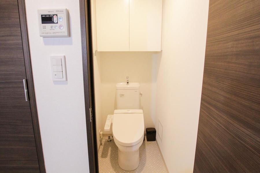 トイレは人気のセパレートタイプ
