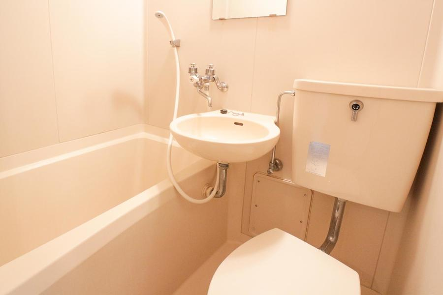 水回りはユニットバスタイプ。お掃除も便利です