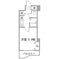 ◇アットイン学芸大学1間取図